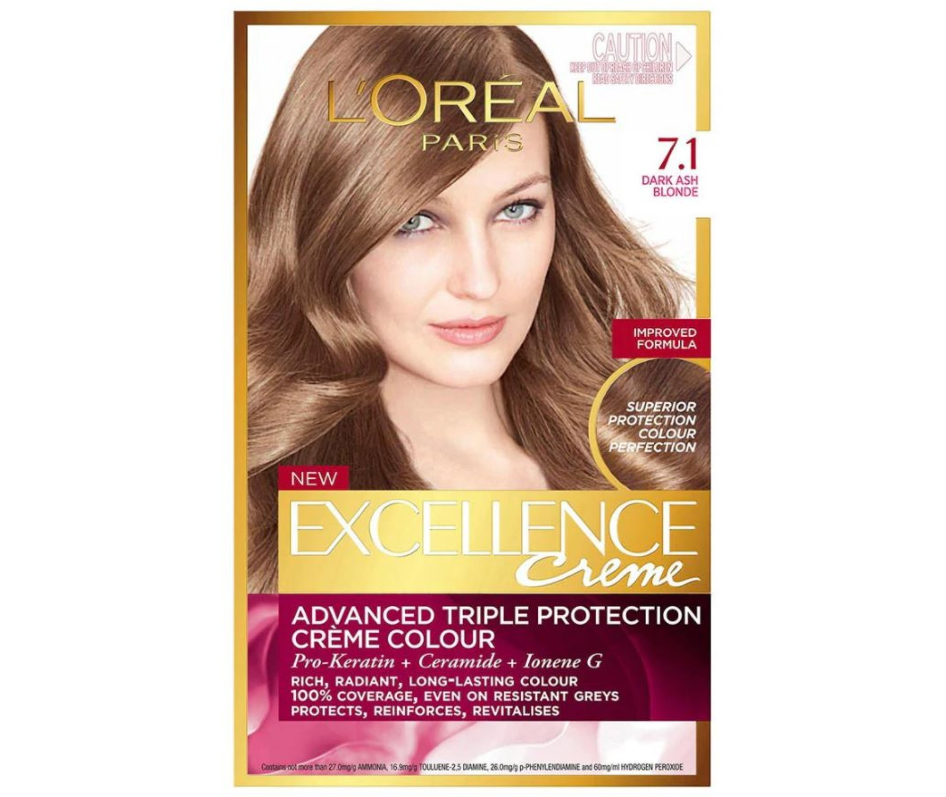 L'OREAL EXCELLENCE Боя за коса 7.1