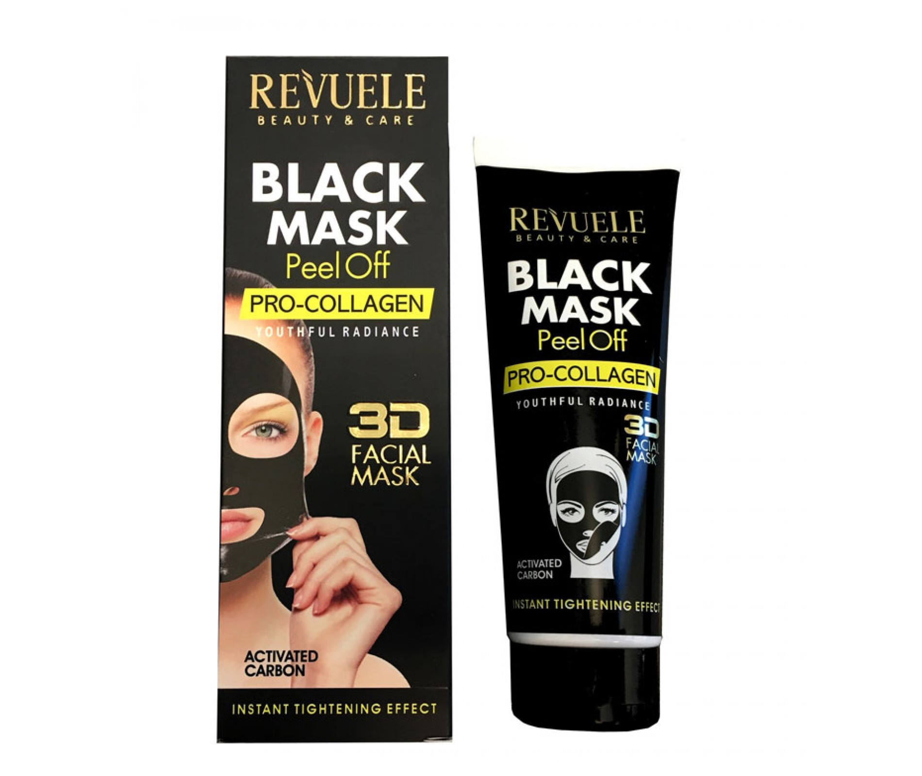 Revuele Black Mask Peel Off Pro-Collagen Tightening 80ml
