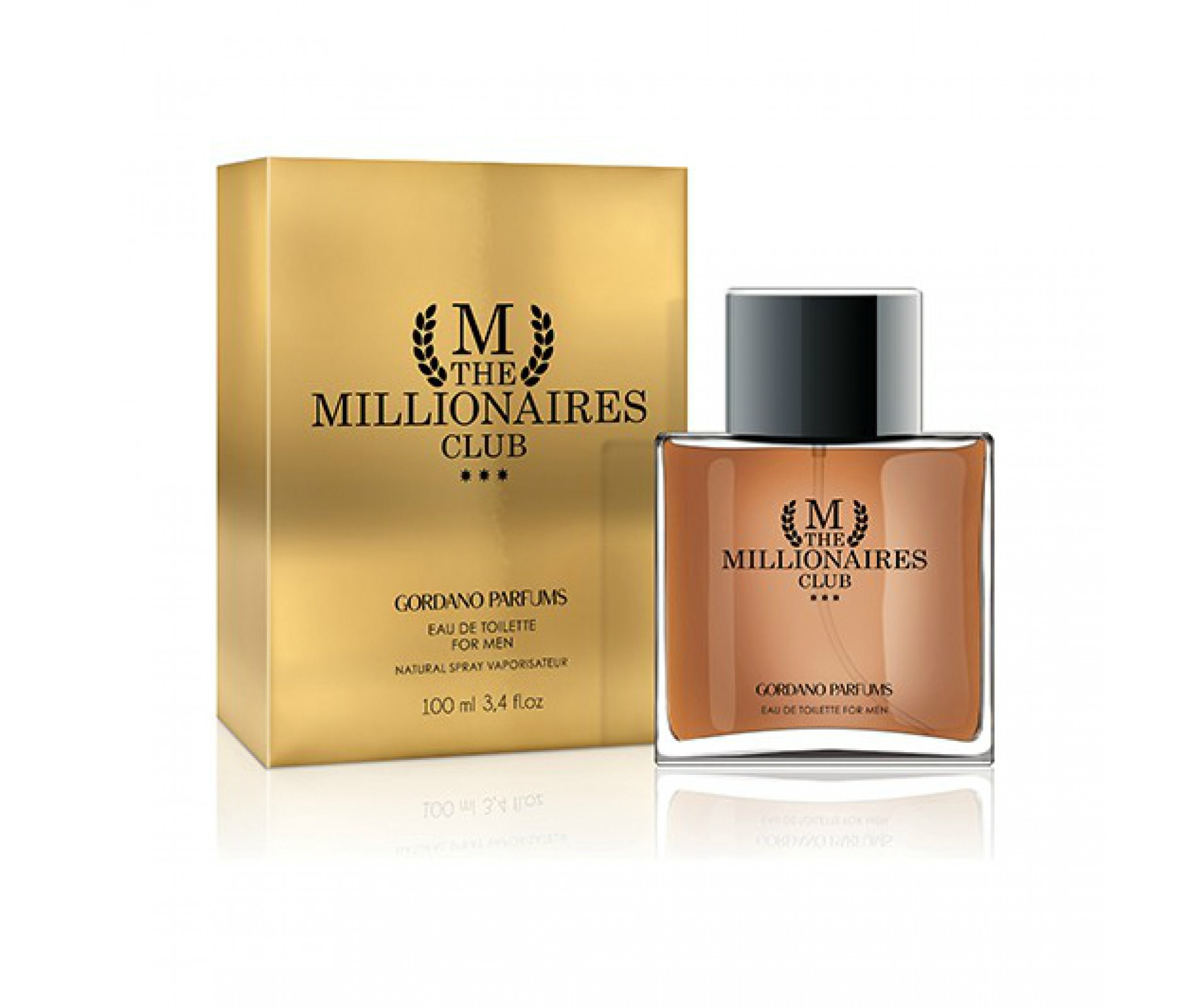 GORDANO PARFUMS M The Millionaires Club