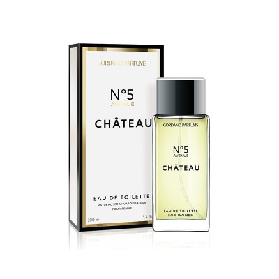 GORDANO PARFUMS No5 Avenue Chateau